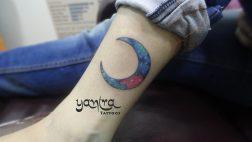 Galaxy Cresent Moon
